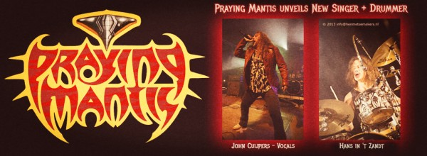 Praying Mantis reveal new line-up