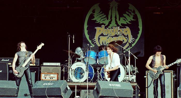 Praying Mantis - Reading Festival 1980