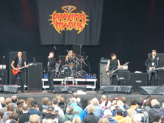 Praying Mantis at Sweden Rock 2010